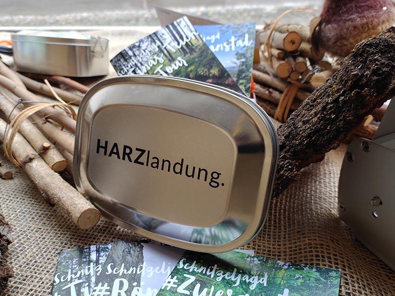 Schnitzeljagd-Geschenkbox
